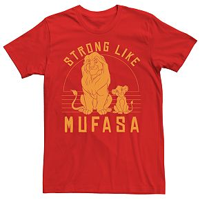 Men's Lion King Mufasa Character Tee