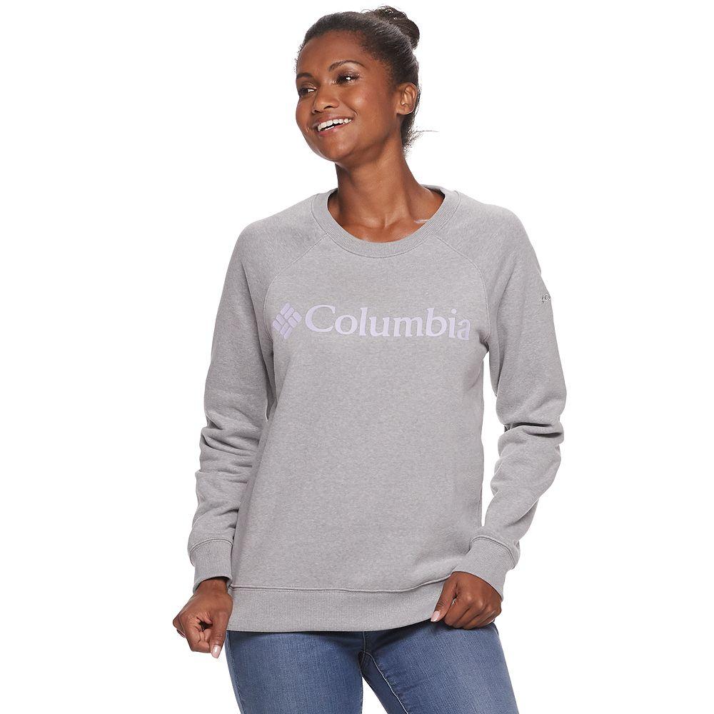 Women's Columbia Logo Crewneck Sweatshirt
