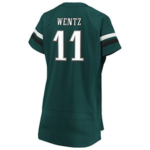 outlet store f284c 4755e Men's Nike Philadelphia Eagles Carson Wentz Game NFL Replica Jersey
