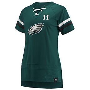 Women's Philadelphia Eagles Carson Wentz Player Tee