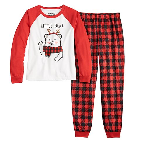 Girls 4-16 Jammies For Your Families Cool Bear Top & Bottoms Pajama Set by Cuddl Duds