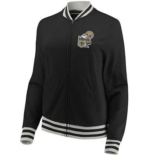Women's New Orleans Saints Vintage Varsity Jacket
