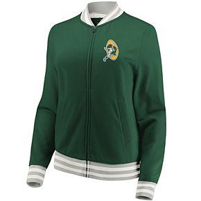 Women's Green Bay Packers Vintage Varsity Jacket