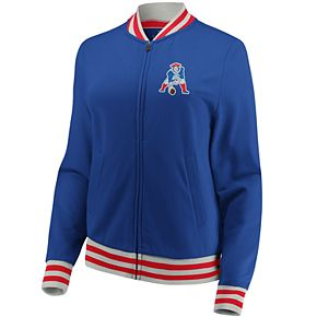Women's New England Patriots Vintage Varsity Jacket