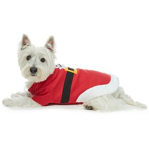 Pet Jammies For Your Families Fun Santa Bodysuit by Cuddl Duds