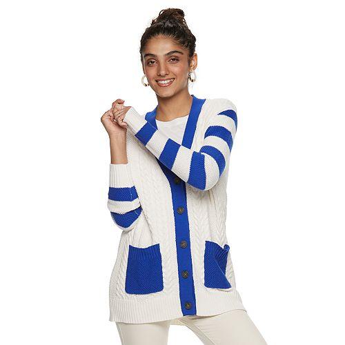 Women's POPSUGAR Nautical Cardigan