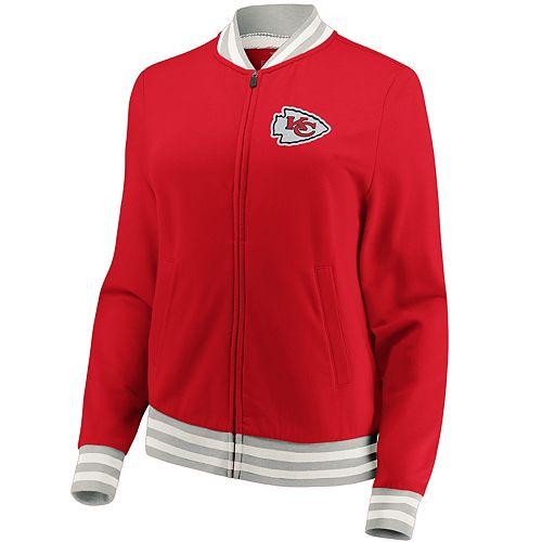 Women's Kansas City Chiefs Vintage Varsity Jacket