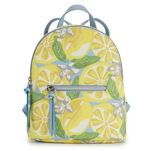 Women's T-shirt & Jeans Lemon Backpack