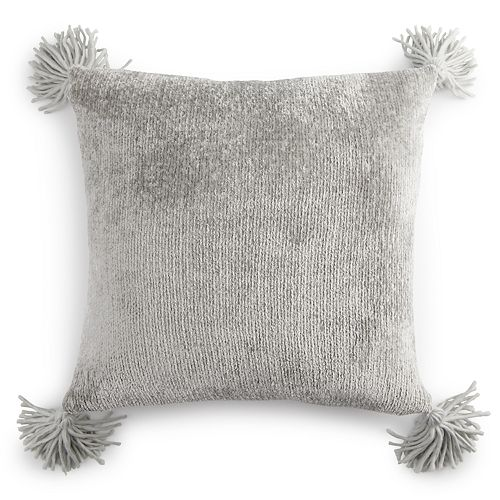 LC Lauren Conrad Ultimate Chenille Feather Fill Throw Pillow