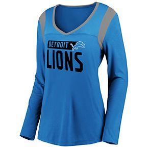 Women's Detroit Lions High-Low Tee