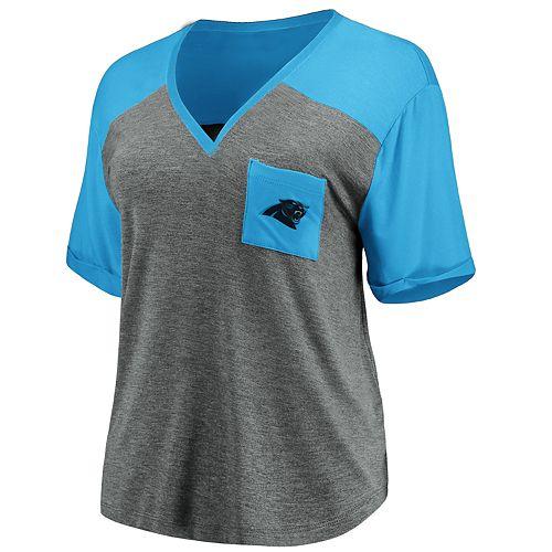 Women's Carolina Panthers Pocket Tee