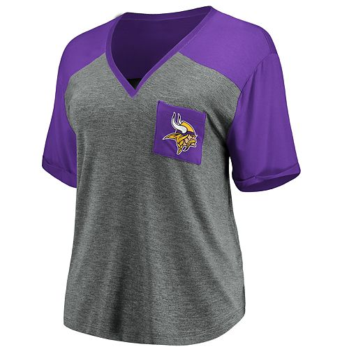 Women's Minnesota Vikings Pocket Tee