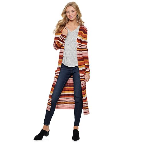 Juniors' SO® Duster Cardigan