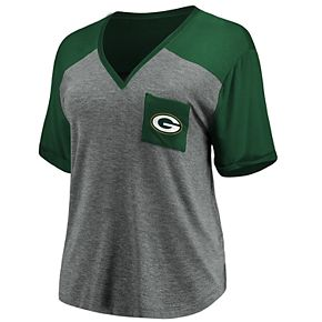 Women's Green Bay Packers Pocket Tee