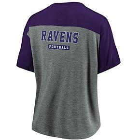 Women's Baltimore Ravens Pocket Tee