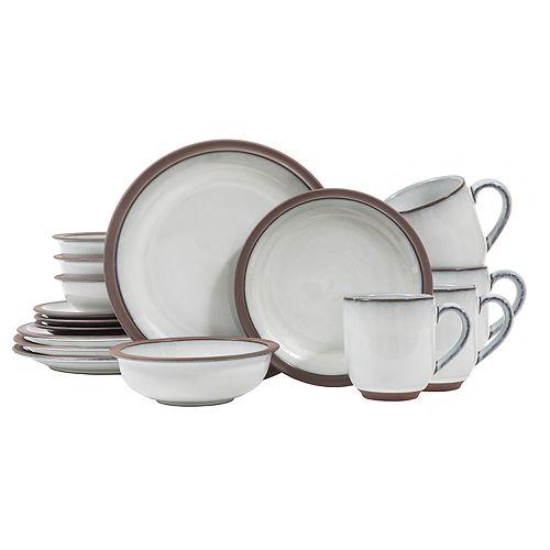 Sango Eterra White 16-pc. Dinnerware Set