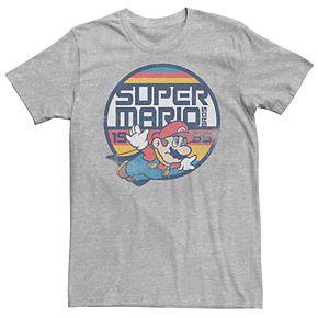 Men's Nintendo Super Mario Retro Fly Tee