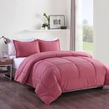 Messy Bed Washed Cotton Comforter Set