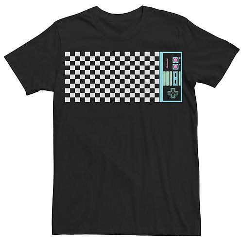 Men's Nintendo Checker Tee