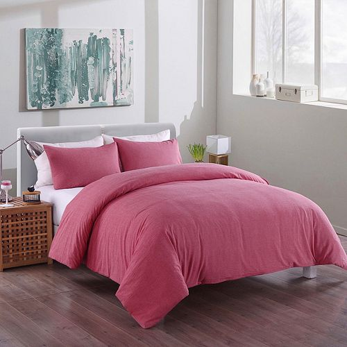 Messy Bed Washed Cotton Duvet Cover Set