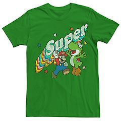 a3d15d21077 Men s Nintendo Super Mario Brothers   Yoshi Graphic Tee