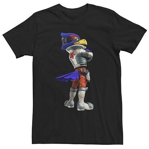 Men's Star Fox Zero Falco Stance Tee