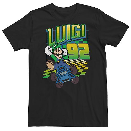 Mens Super Mario Bros. Luigi Tee