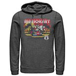 Men's Nintendo Mario Kart Tropical Beach Drift Pull-Over Hoodie