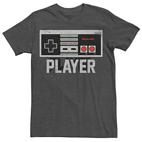 Men's Nintendo NES Player Controller Logo Tee