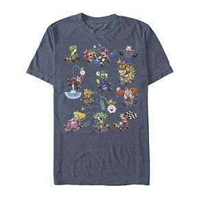 Men's Irish Mario Kart Clashing Battles Tee