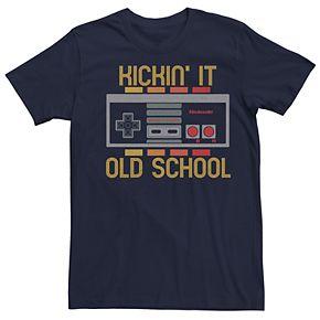 Men's Nintendo Control Old School Tee