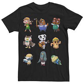 Men's Animal Crossing Town Folk Tee
