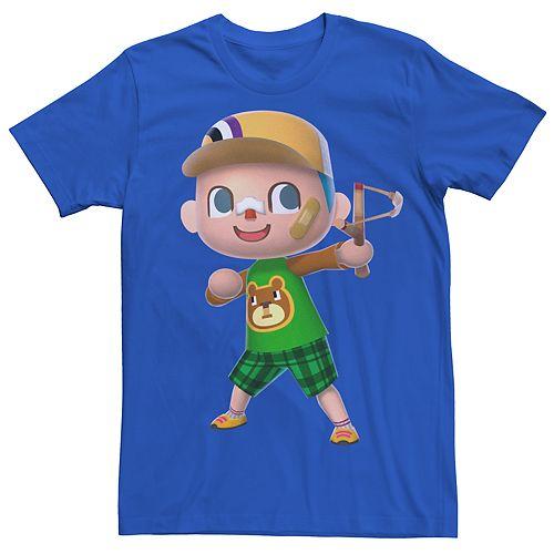 Men's Animal Crossing Villager Slingshot Tee