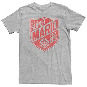 Men's Super Mario Bros 85 Badge Tee