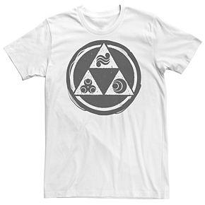 Men's Legend of Zelda Triforce Power Tee