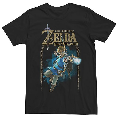 Men's Nintendo Zelda Breath of the Wild Link Tee