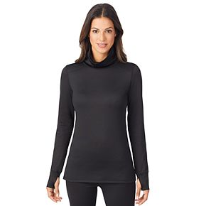 Women's Cuddl Duds Thermawear Long Sleeve Cowl
