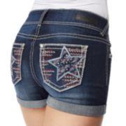 Juniors' WallFlower Luscious Curvy Bling Shorts
