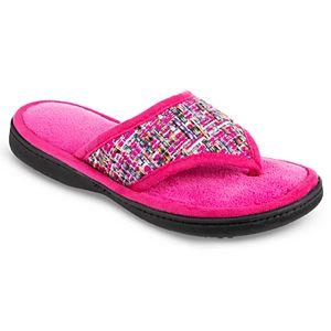 c8c33e3feefc Regular. $28.00. Women's Isotoner Nikki Thong Slippers