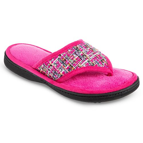 Women's Isotoner Nikki Thong Slippers