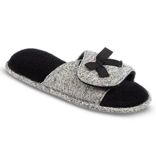 Women's Isotoner Adela Memory-Foam Slide Slippers