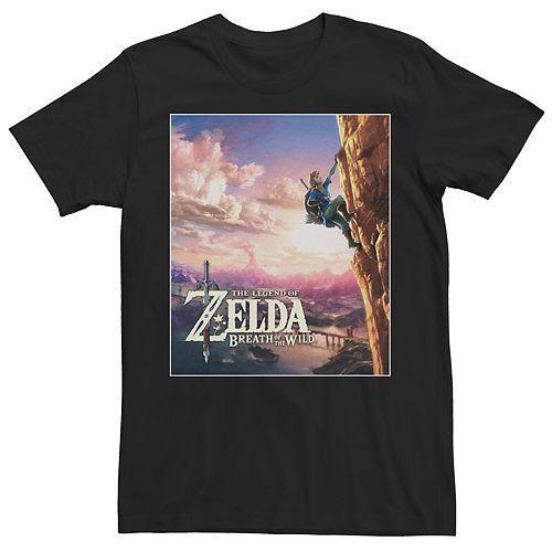 Men's Breath of the Wild Graphic Zelda Tee