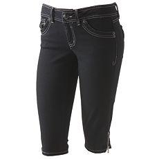 Candie's Denim Crop Pants