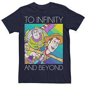 Men's Disney / Pixar To Infinity and Beyond Tee