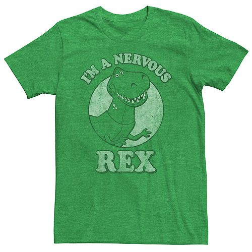 Men's Disney / Pixar Nervous Rex Tee