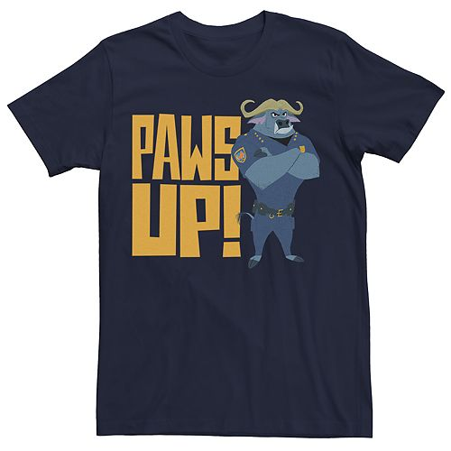 Men's Zootopia Paws Up Graphic Tee