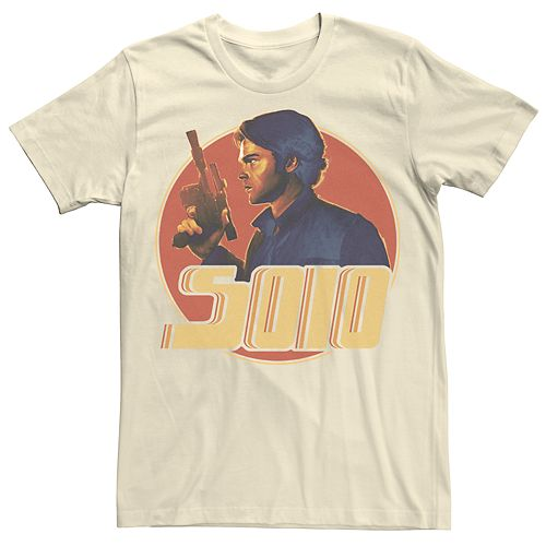 Men's Graphic Han Solo Star Wars Tee