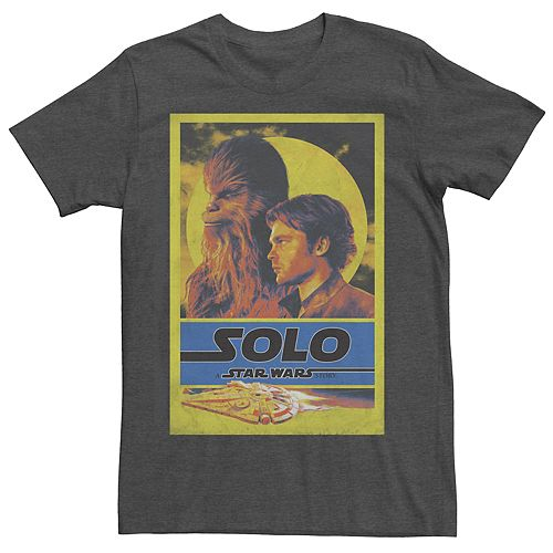 Men's Star Wars Retro Character Tee