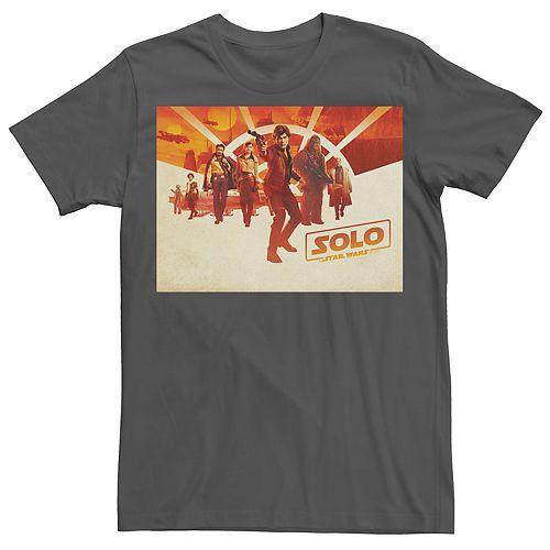 Men's Han Solo Character Poster Tee