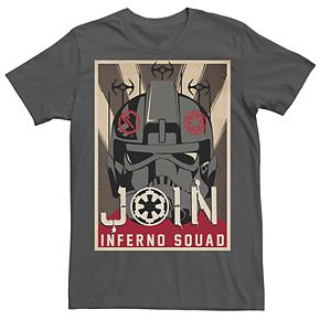 Men's Star Wars Join Inferno Squad Tee